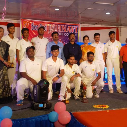 Under 19 winners for match conducted by HCA